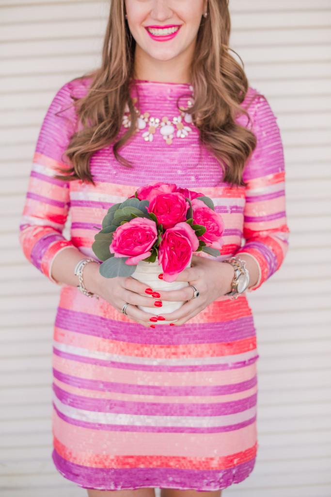{Posh Floral Stylized Valentines Brunch}-28